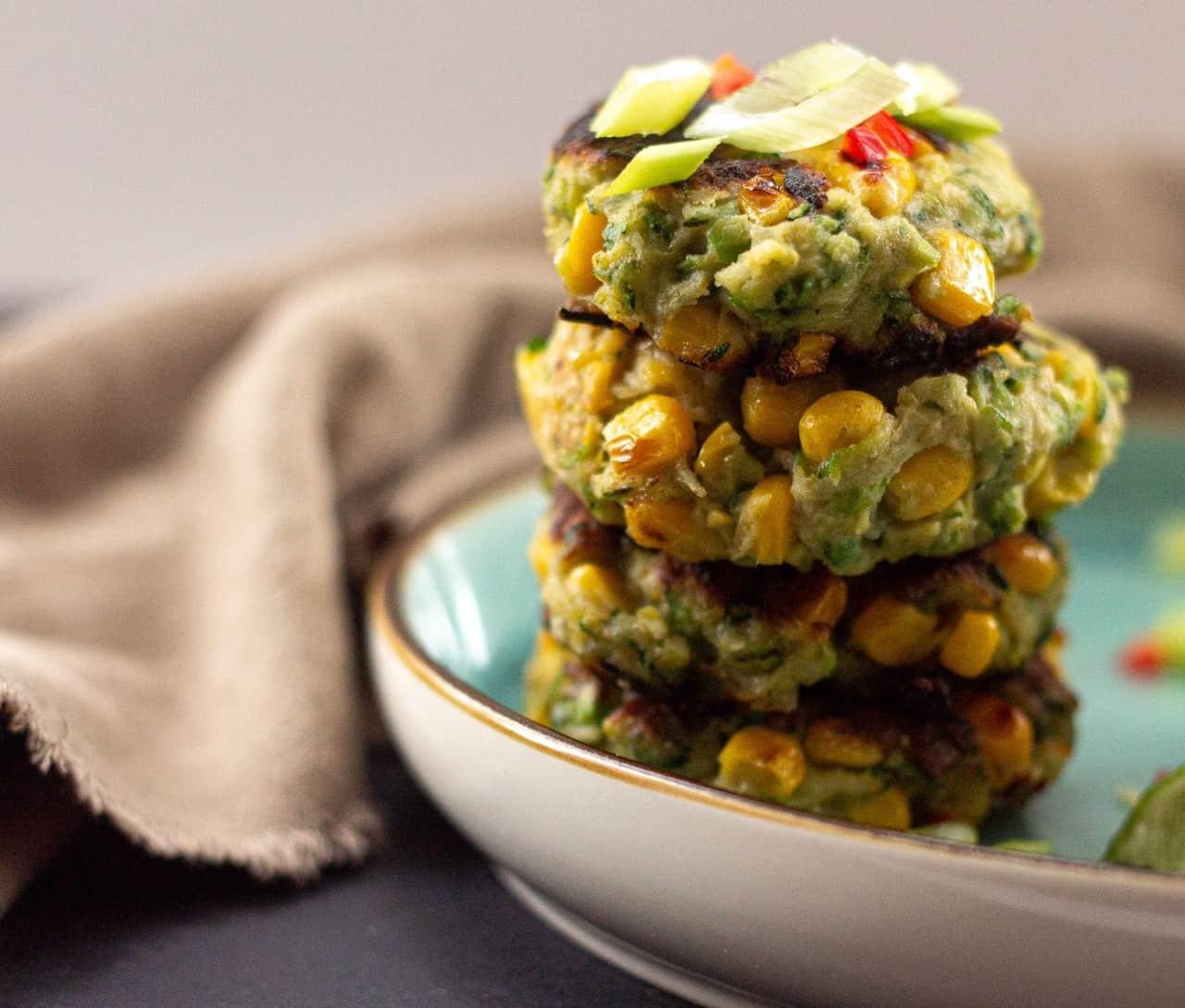 How to Make Vegan Zucchini Corn Fritters