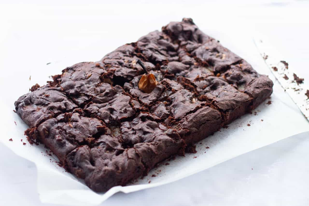 A batch of brownies