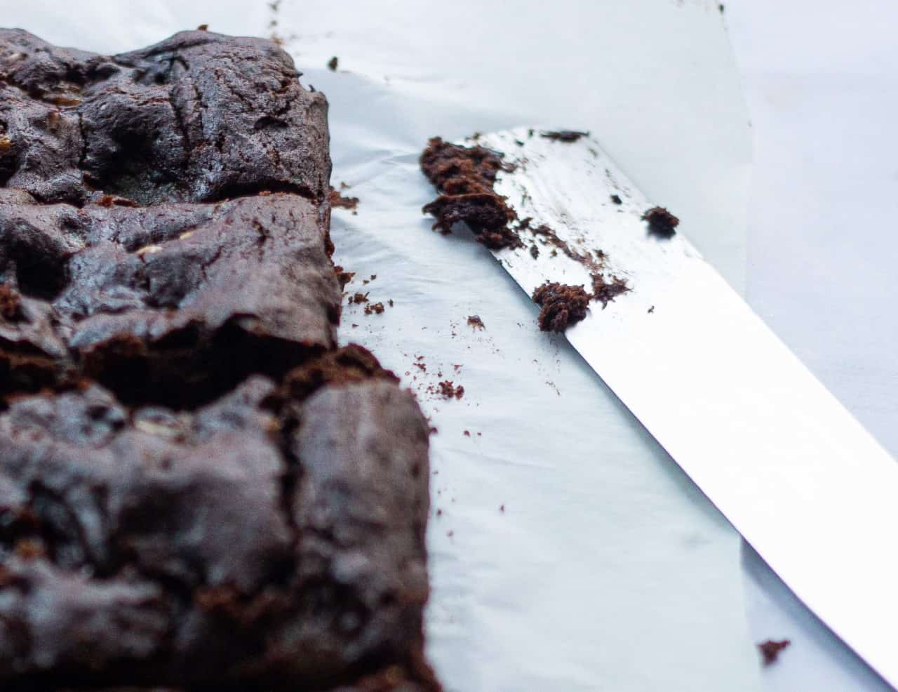 How to Make Vegan Pear and Walnut Brownies