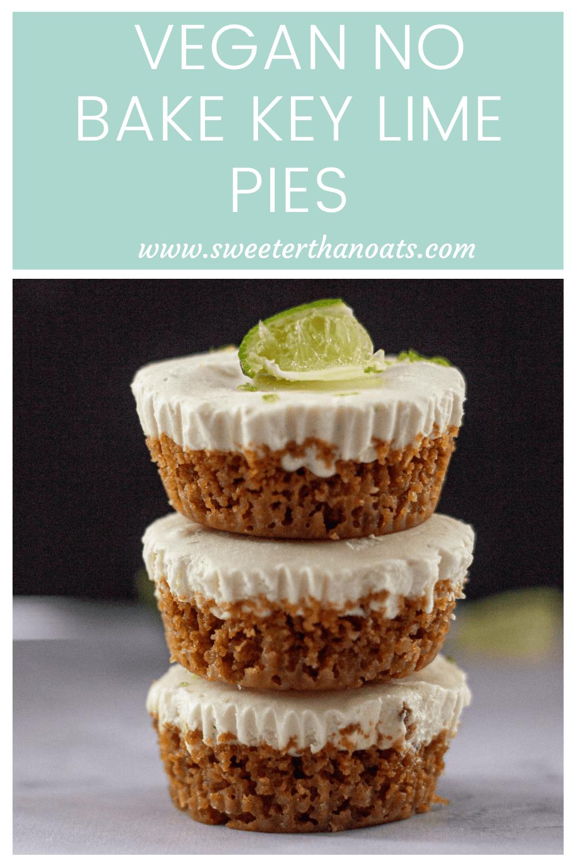 How to Make No Bake Vegan Key Lime Pies