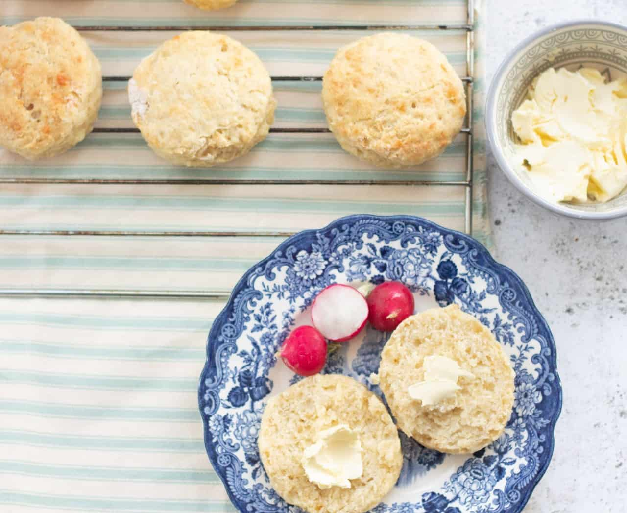 How to Make Easy Vegan Cheese Scones