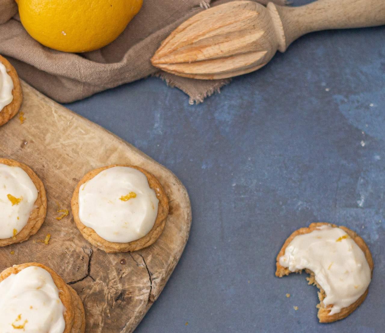 The Easiest Tangiest Vegan Lemon Cookies Ever