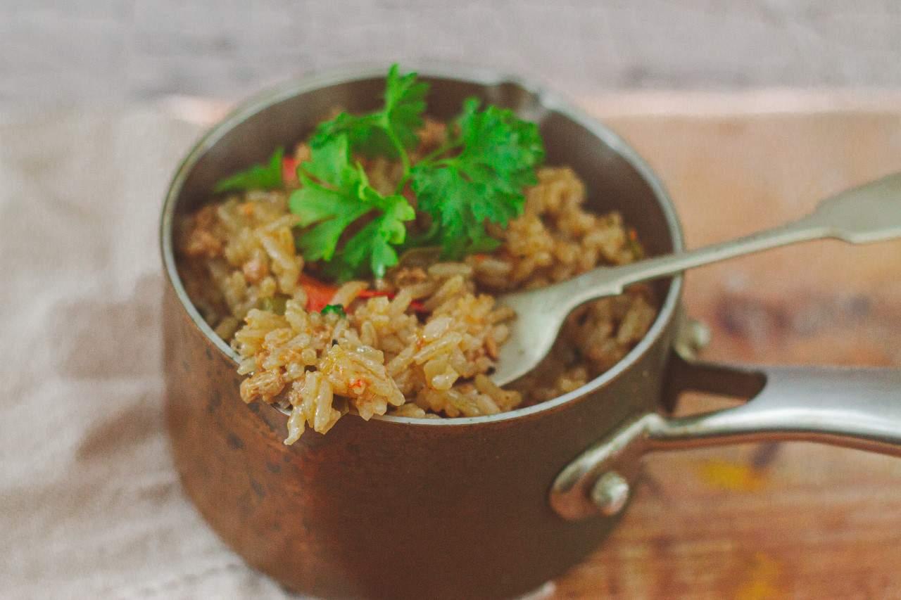 How to Make Vegan Dirty Rice