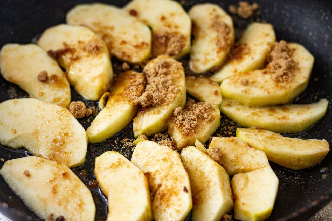 Vegan Apples in the French Style Recipe