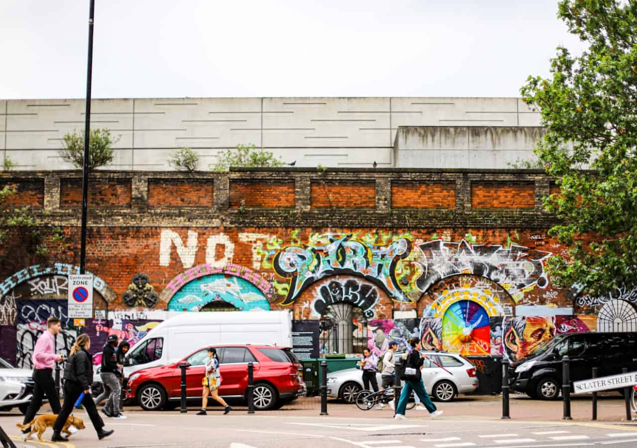 Brick Lane Grafitti