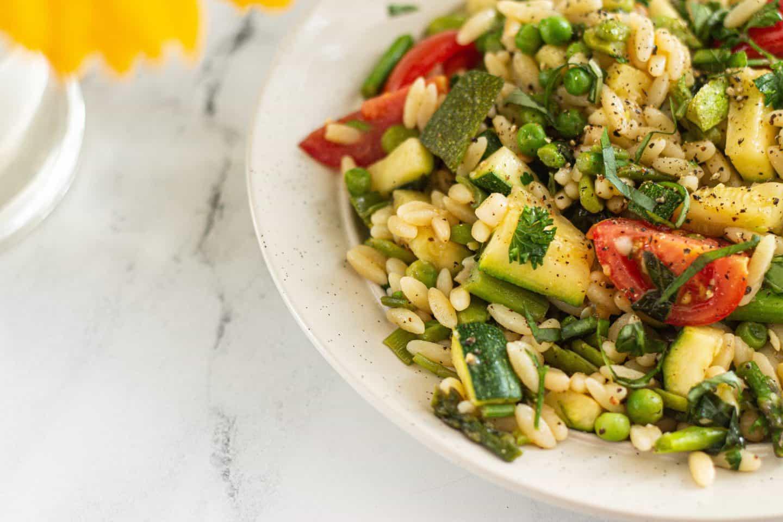 How to Make Vegan Pasta Primavera