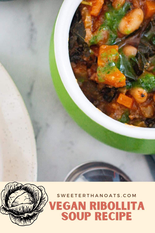 How to Make Vegan Ribollita Soup