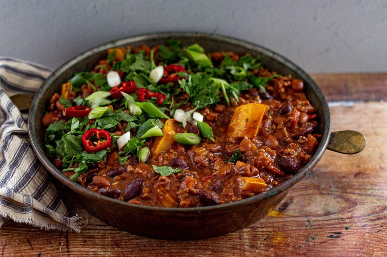 How to Make Vegan Chilli