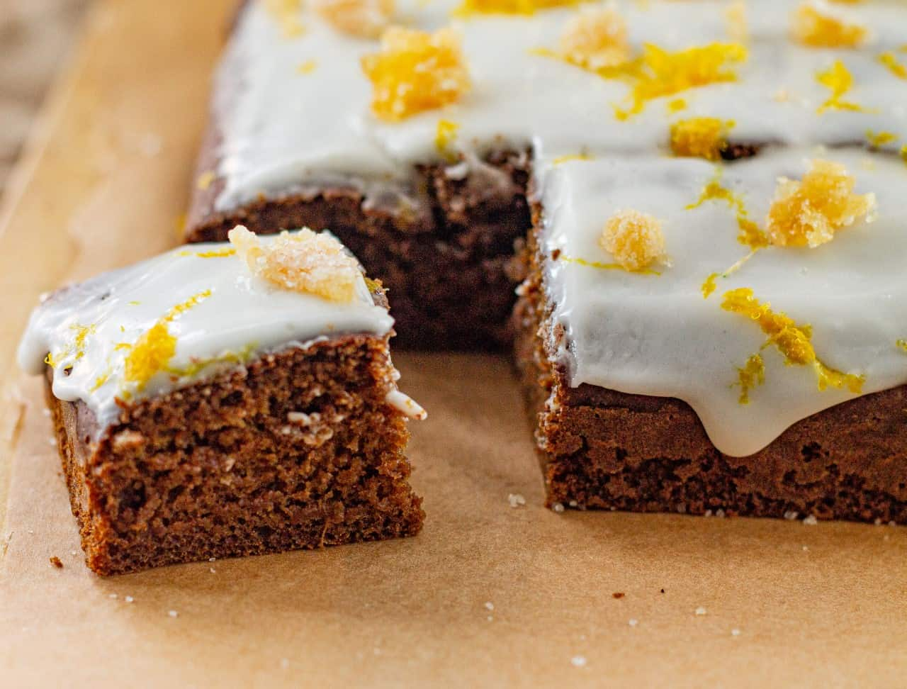 How to Make Old Fashioned Vegan Gingerbread Cake