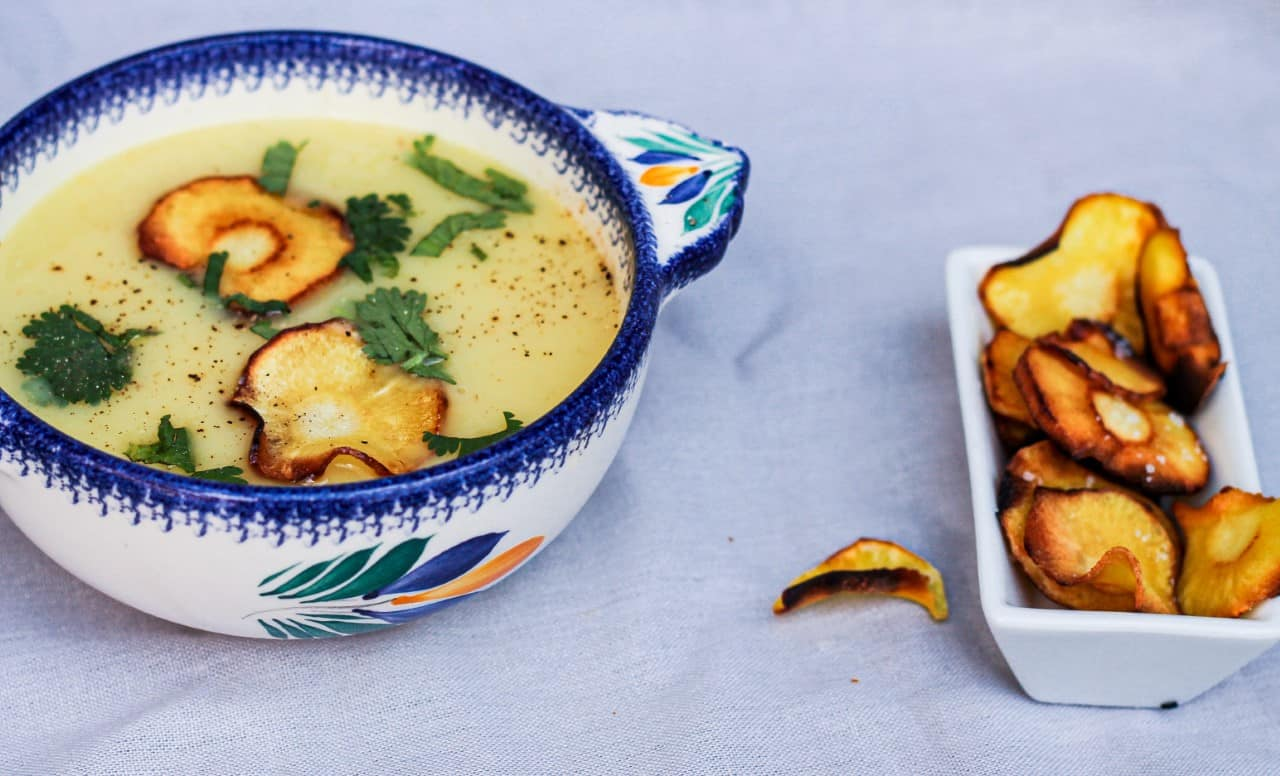 How to Make Vegan Parsnip Soup