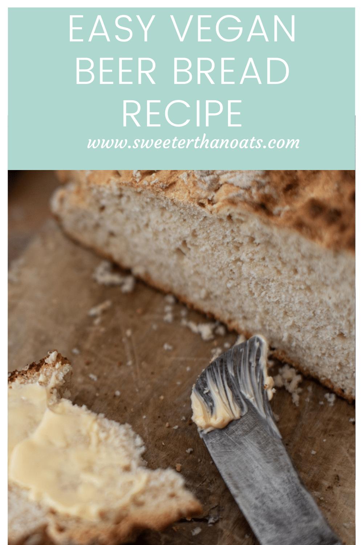 How to Make Easy Vegan Beer Bread