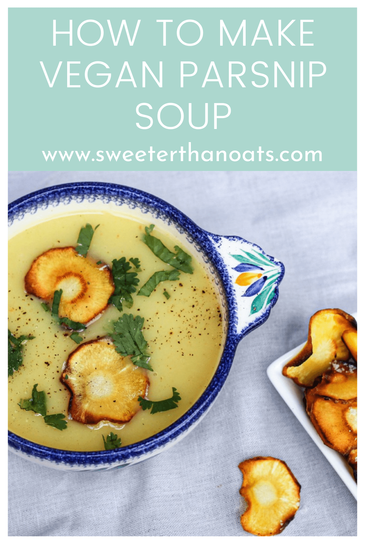 Vegan Parsnip Soup Recipe