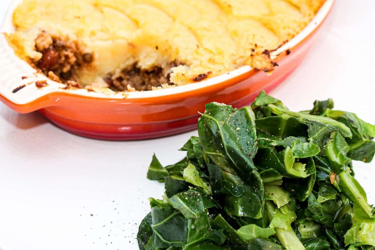 How to make a perfect vegan shepherds pie