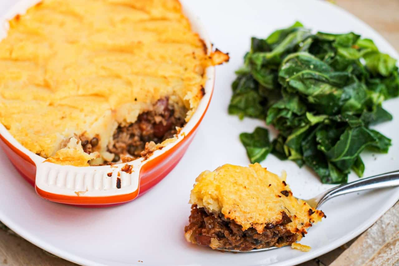 How to make perfect vegan shepherds pie